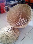 Keranjang Sampah Bambu